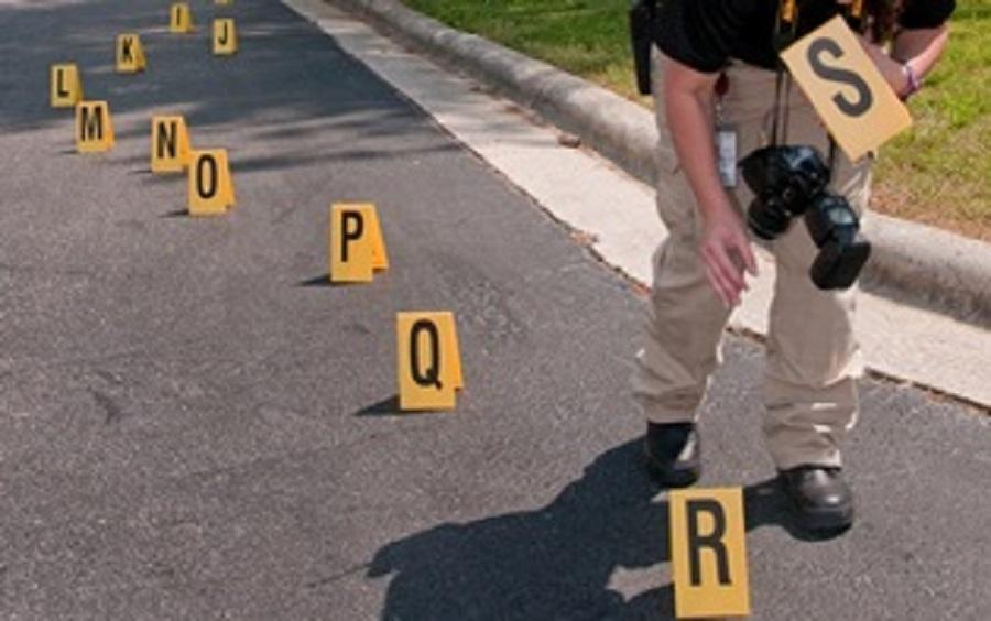 Crime Scene Evidence Placards