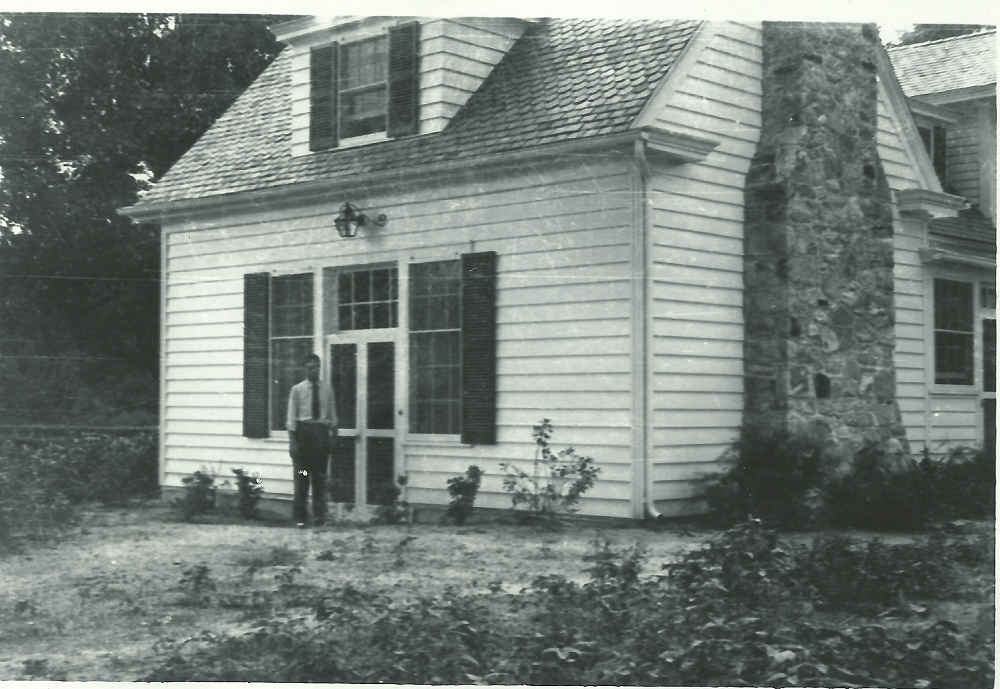 Image of the addition on the side of the farmhouse added in 1940