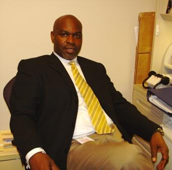 Eastern Regional Center Director Darryl Blevins