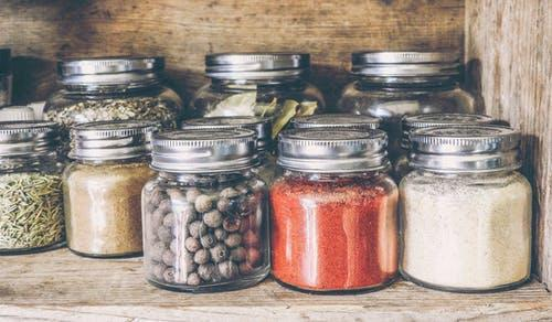 Jar - Powders and Spices