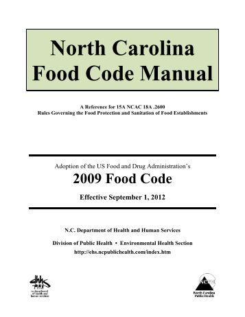 NC Food Code