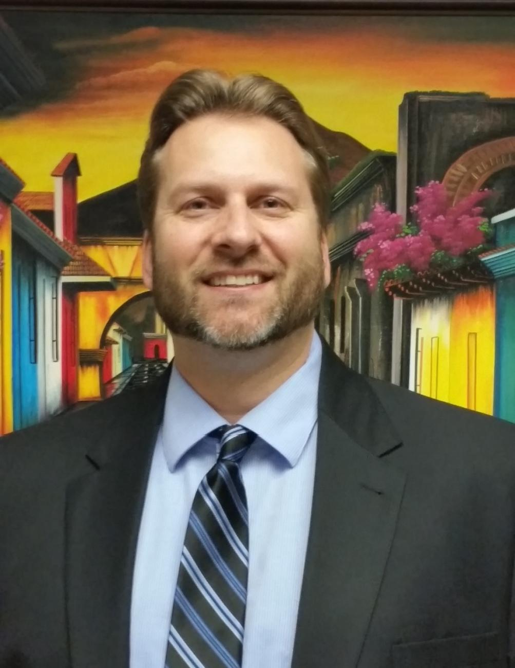 Southern Regional Center Director Richard Hayner
