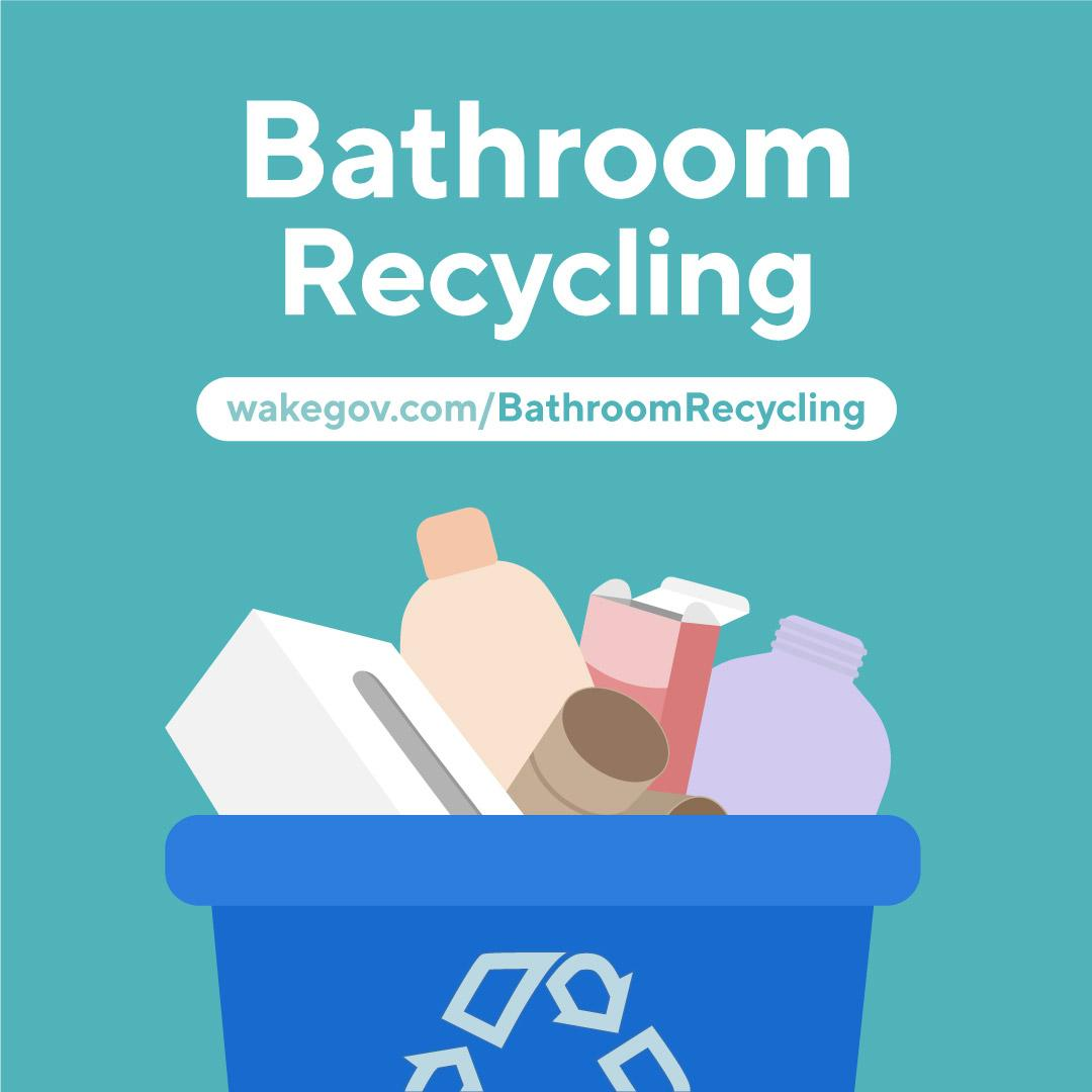Bathroom Recycling
