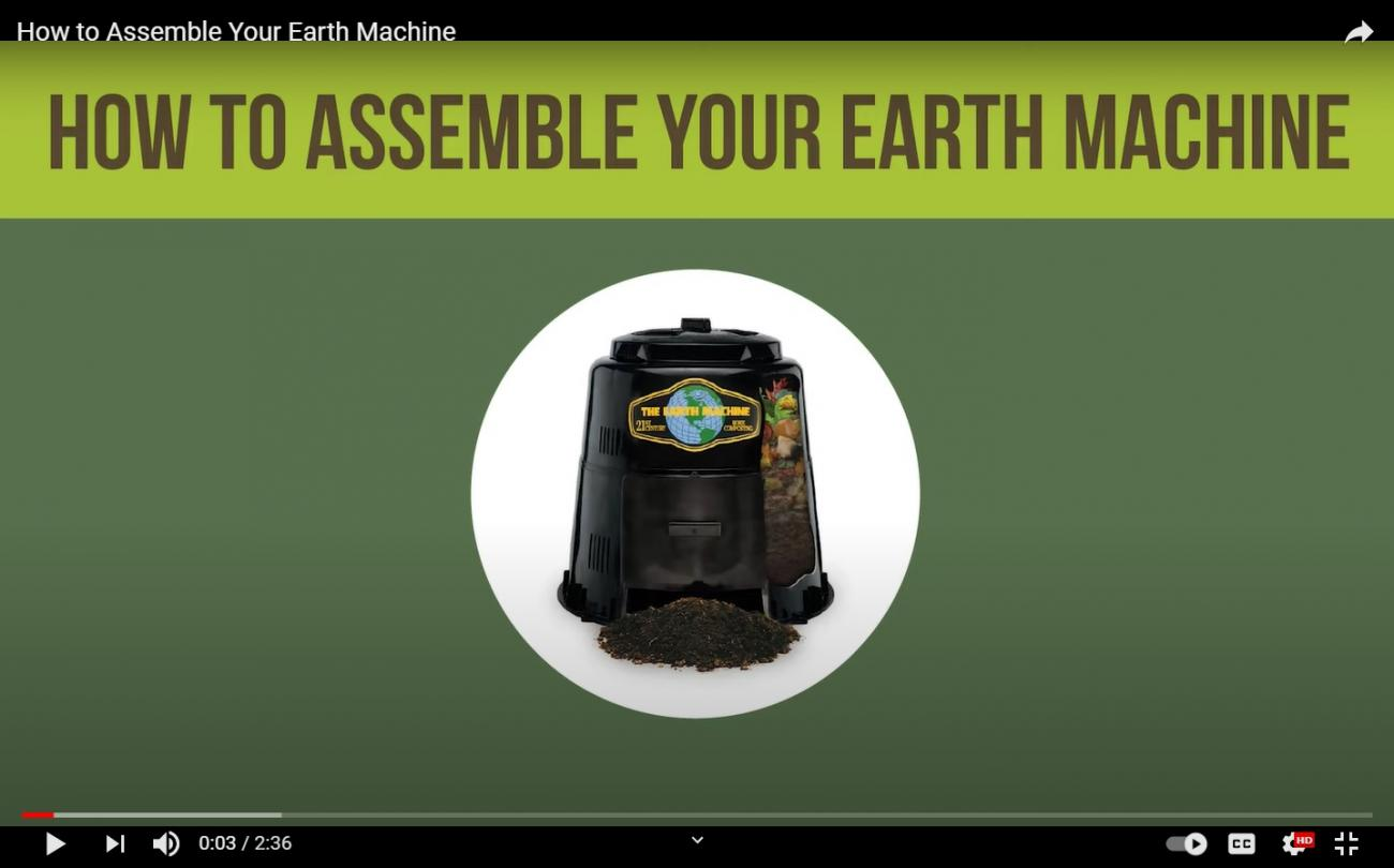 How To Assemble Your Earth Machine