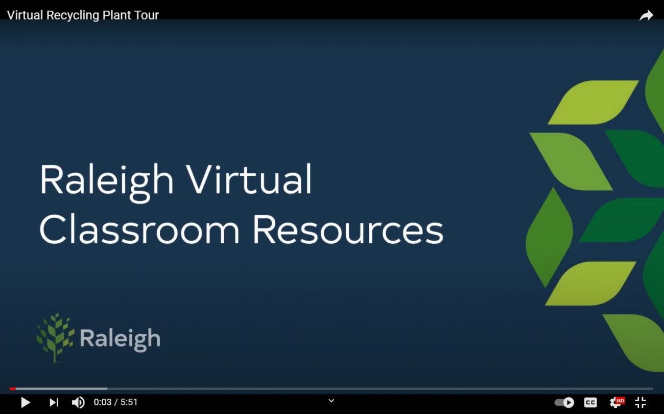 Virtual Recycling Center Tour