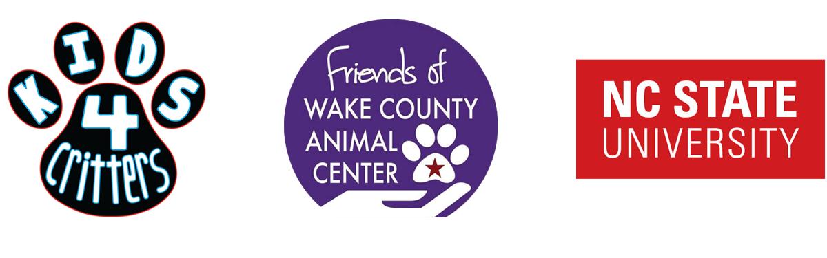 Wake County Animal Center Partner logos