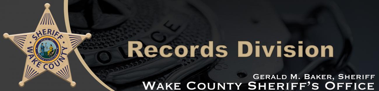 RecordsWCSO