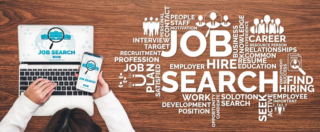 job interview banner