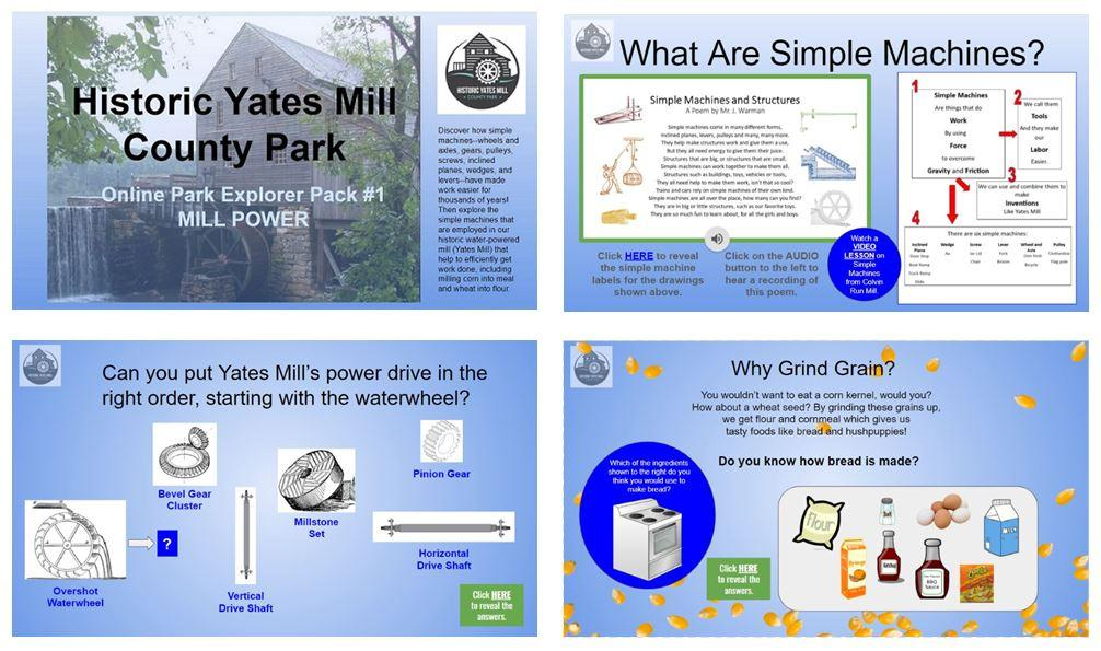 Yates Mill Power Pack Collage