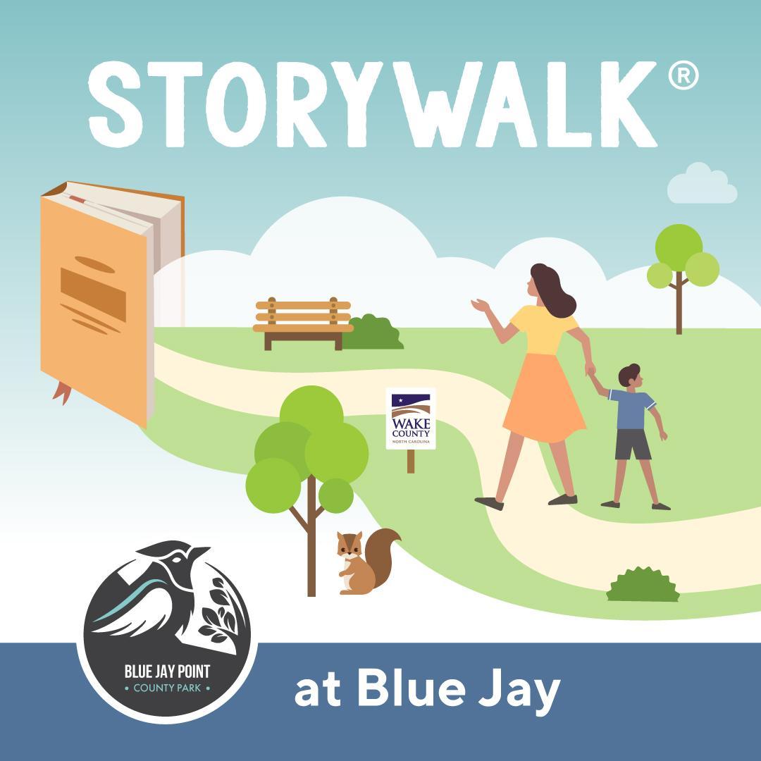 Blue Jay StoryWalk
