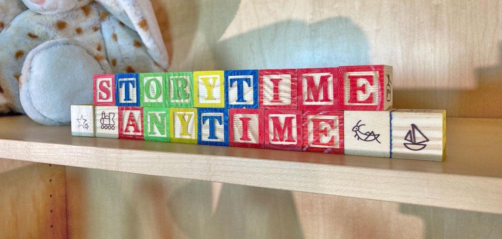 Storytime letters