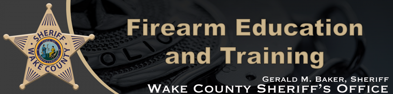 WCSO Firearms Education