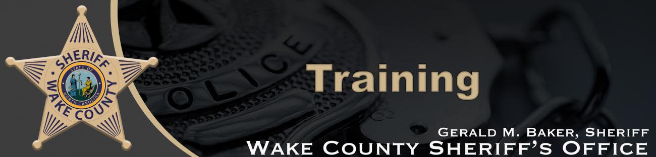 WCSO Training