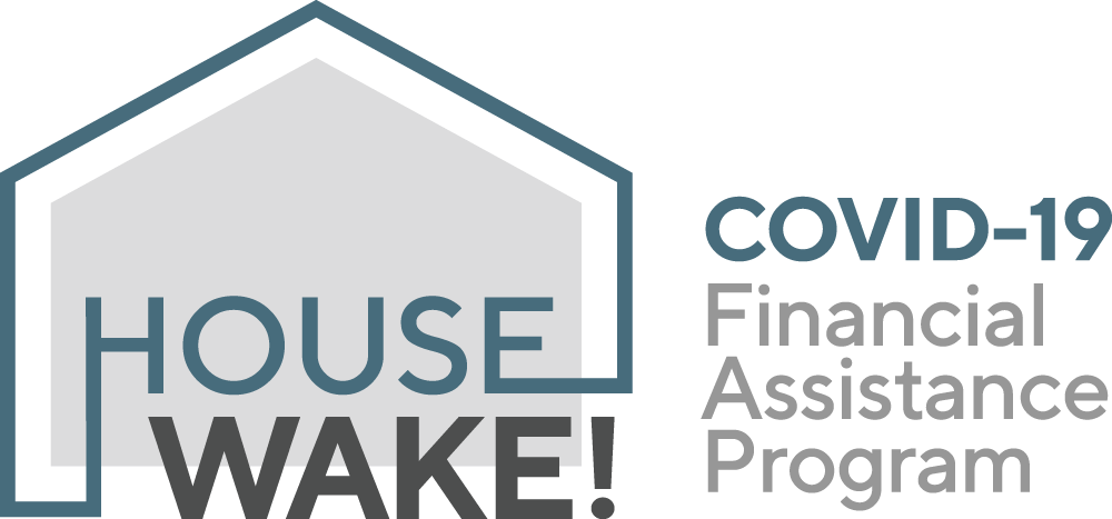 HouseWake! COVID-19 Financial Assistance Program logo