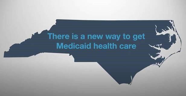 Medicaid image map of Wake County