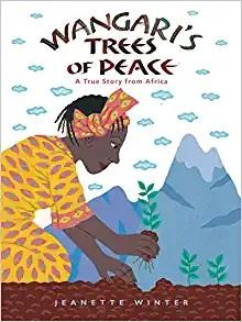 Cover image of the book Wangari's Trees of Peace
