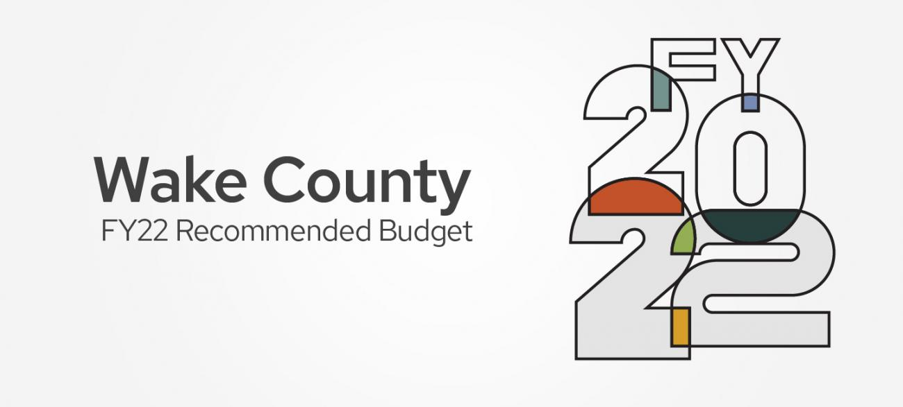 Graphic for FY 22 Recommended Budget