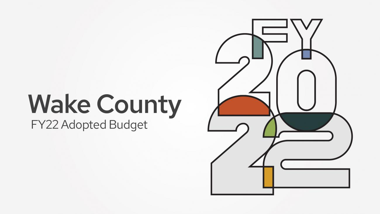 FY 2022 Adopted Budget page graphic