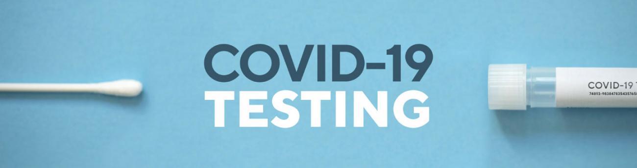 COVID-19 Testing Graphic