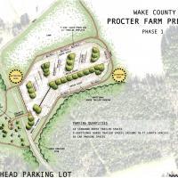 Procter Farm Preserve Trail Head Rendering