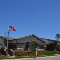 A picture of the entrance Wendell Falls Public Safety from the street