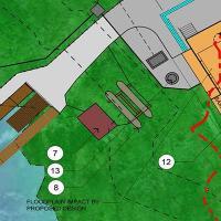 Yates Mill Schematic Site Plan