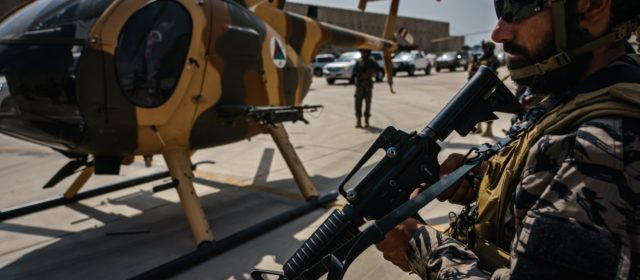 Tanks, attack helicopters, drones: What U.S.-supplied arms mean for the Taliban
