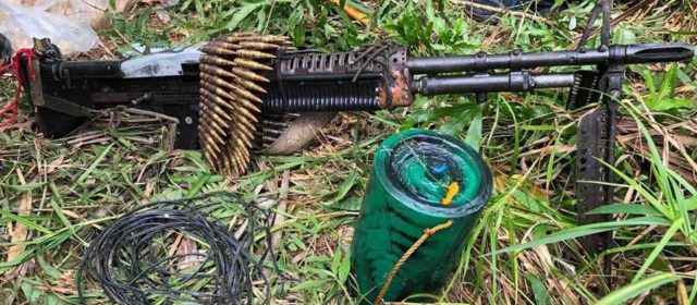 Philippine Army overruns communist insurgent camp, seizes IEDs and weapons