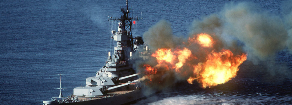 The story of the last battleship to see combat, ill-tempered USS Wisconsin