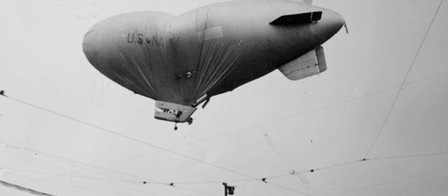 In 1942, a Navy crew vanished from a war blimp over San Francisco