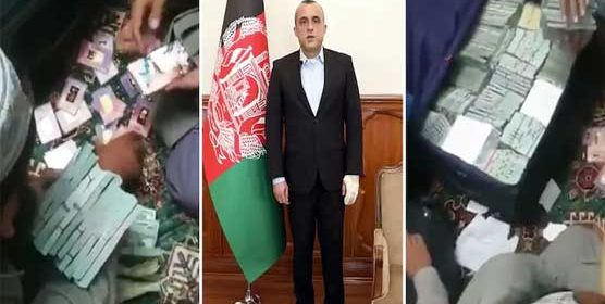 Taliban claims to recover $6.5 million, 18 gold bricks at former Afghan VP's home