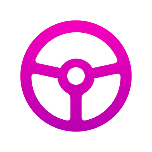 Example of Design for Business iOS App Icon by Lyft Driver