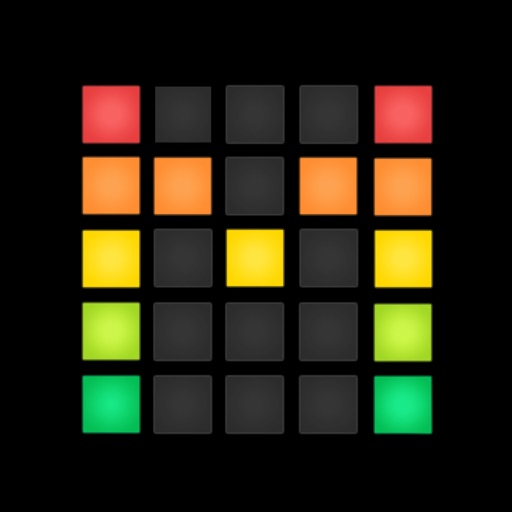 Example of Design for Music & Audio iOS App Icon by Drum Machine