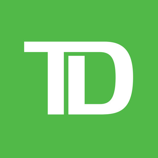 Example of Design for Finance iOS App Icon by TD Bank (US)