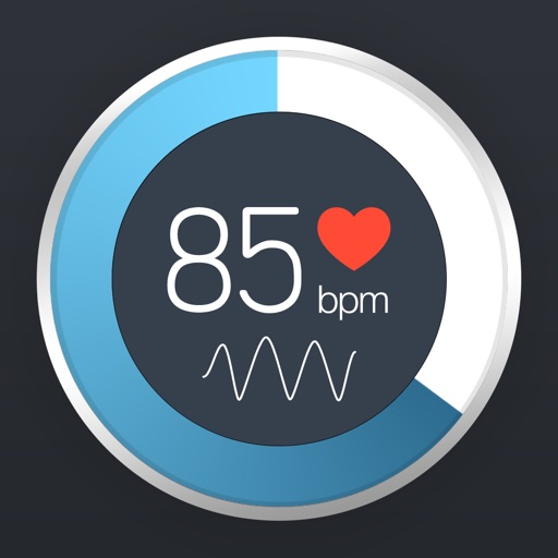 Example of Design for Health & Fitness iOS App Icon by Instant Heart Rate
