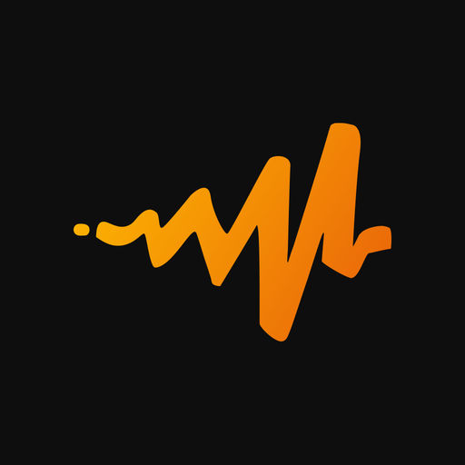 Example of Design for Music & Audio iOS App Icon by Audiomack