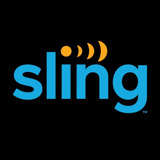 Example of Design for Entertainment iOS App Icon by Sling TV