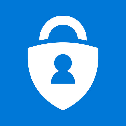 Example of Design for Productivity iOS App Icon by Microsoft Authenticator