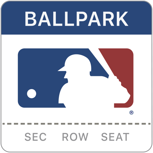Example of Design for Sports Android App Icon by MLB.com Ballpark