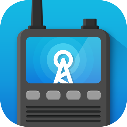 Example of Design for News Android App Icon by Police Scanner Radio