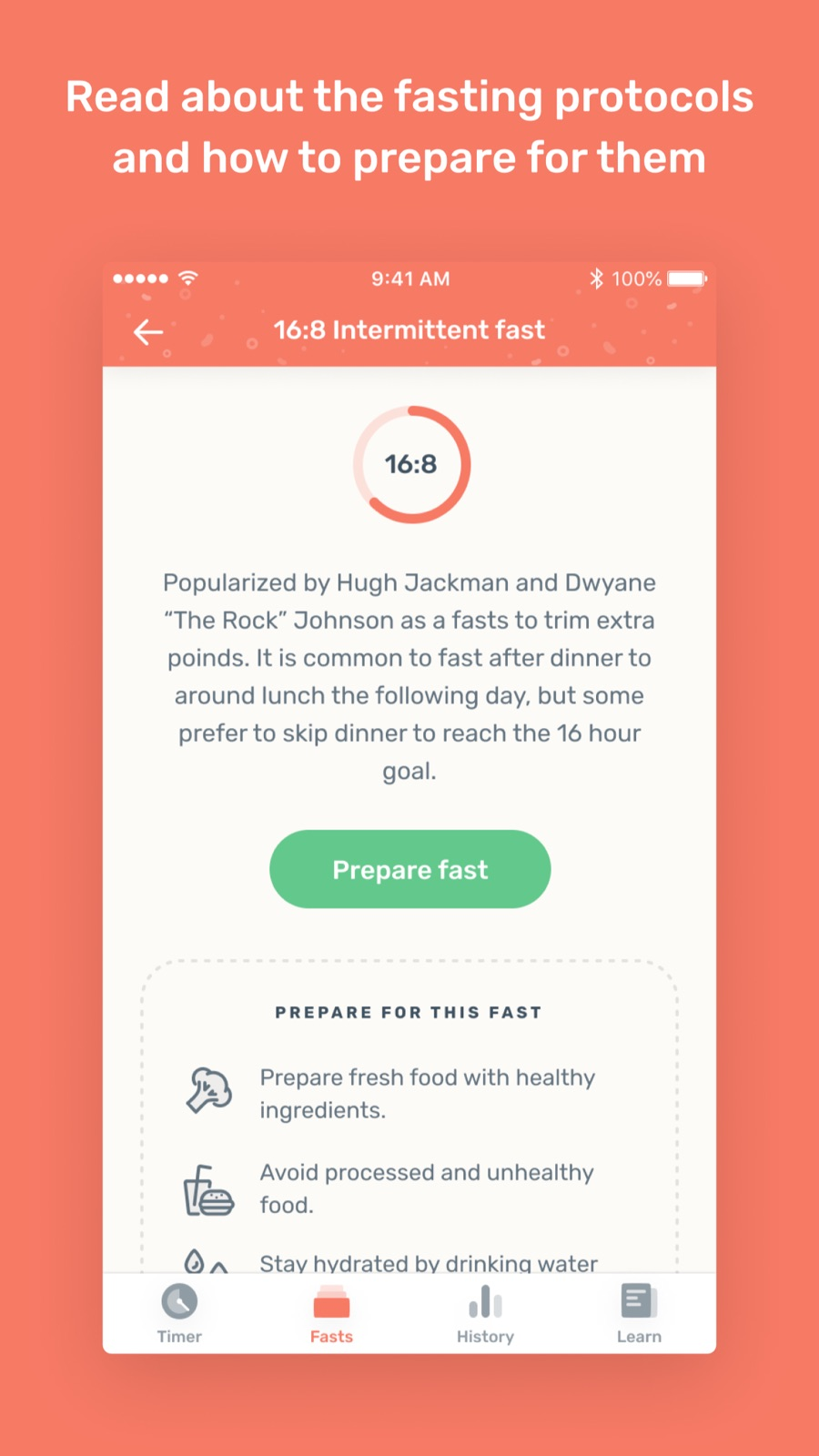 Example of Design for Health & Fitness App , App Store Screenshot by Zero