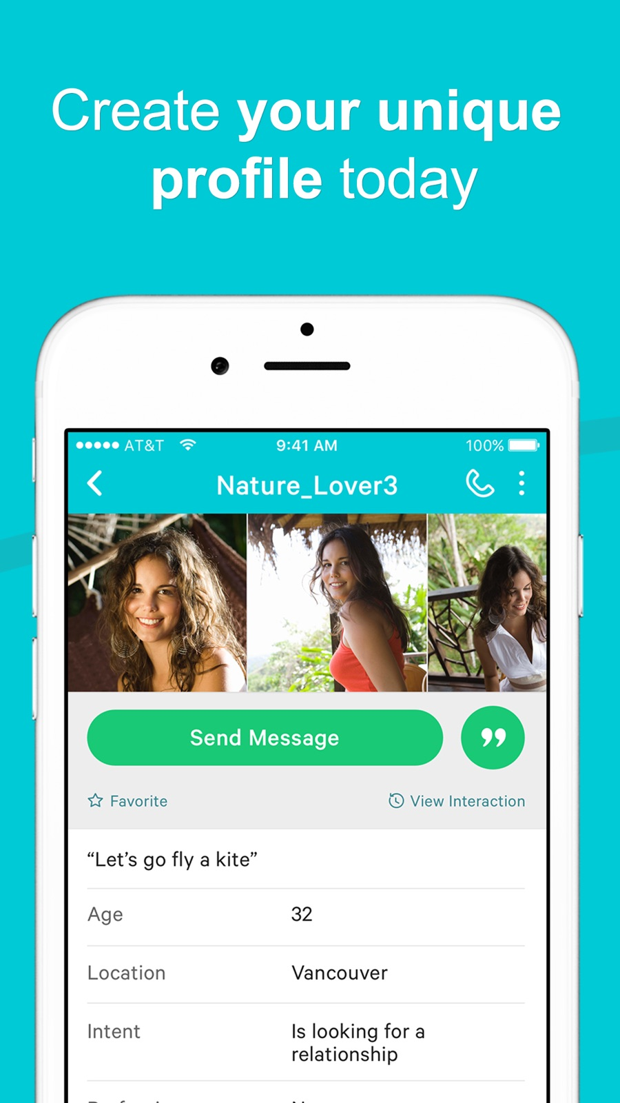 Example of Design for Social Networking App , App Store Screenshot by POF Dating