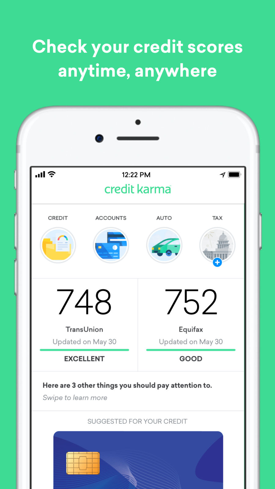 mobile support credit karma.com