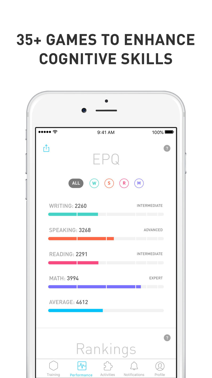 Example of Design for Education App , App Store Screenshot by Elevate