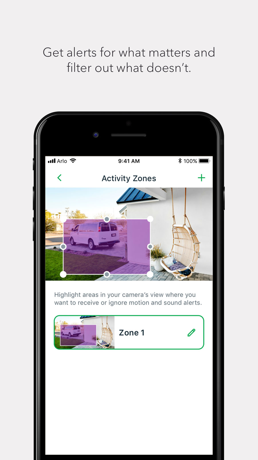 Example of Design for Photo & Video App , App Store Screenshot by Arlo