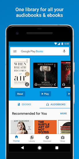 Example of Design for Books & Reference App , App Store Screenshot by Google Play Books