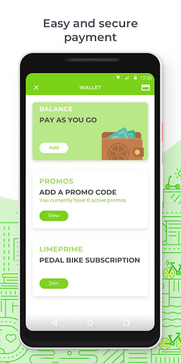 Example of Design for Travel & Local App , App Store Screenshot by LimeBike