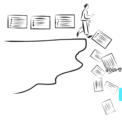 Example of Design for document, slide, Person, Web Illustrations by stick-ai | Illustration Design