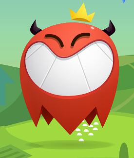 Example of Design for crown, horns, smile, Web Illustrations by applovin-com | Illustration Design
