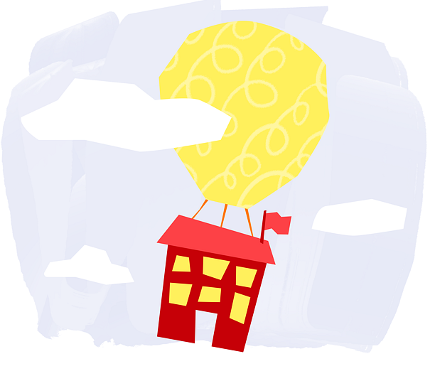 Example of Design for house, balloon, globe, cloud, abstract, Web Illustrations by new-edmodo-com | Illustration Design